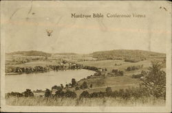 Montrose Bible Conference Views Postcard