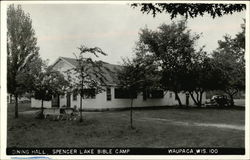 Dining Hall, Spencer Lake Bible Camp