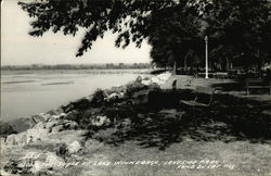 Shore of Lake Winnebago, Lakeside Park