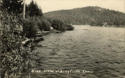 Scene at Billy Creek Camp