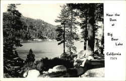 Near the Dam at Big Bear Lake