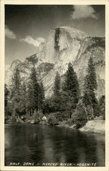 Half Dome, Merced River, Yosemite