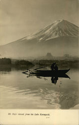 Mt. Fuji Viewed From the Lake Kawaguchi