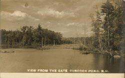 View From the Gate, Suncook Pond