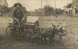 Amputee John Rose, Goat Cart Driver