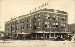 Baker Hotel, Western Union, Old Cars