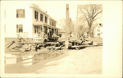 Damage from the Great Flood of 1936