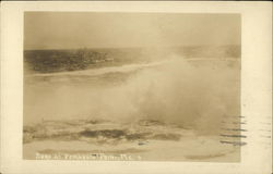 Surf at Pemaquid Point