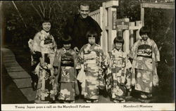 Young Japan Pays a Call on the Maryknoll Fathers, Maryknoll Missions