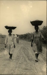 Women With Baskets on Heads