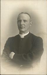 Photgraphic portait of a priest