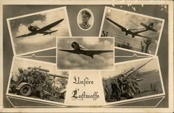 Luftwaffe - Airplanes and Artillery