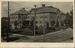 View of Large Brick Building, School?
