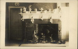 Old Fireplace in Fitzwilliam Tavern