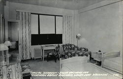 Northern Baptist Assembly - Roger Williams Inn - Typical Bedroom