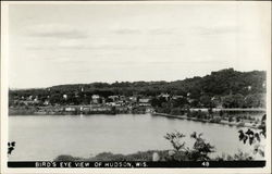 Bird's Eye View of Hudson, Wis