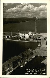 U.S. Coast Guard and Fish Houses