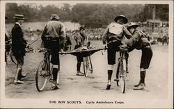 The Boy Scouts, Cycle Ambulance Corps