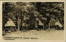 Pioneer Camp at Sandy Beach Yawgoog