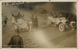 Scouts' Day, 1913 Auto Race, Brooklands Circuit