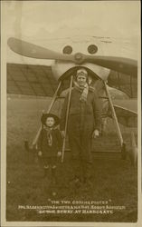 Harold Blackburn, Aviator & Boy Scout Postcard