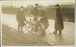Motorcycle, Scouts' Field Days, Feb. 1910