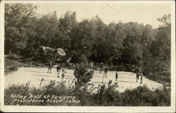 Volley Ball at Yawgoog Providence Scout Camp