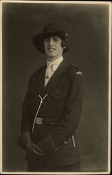 Portrait of Girl Guide