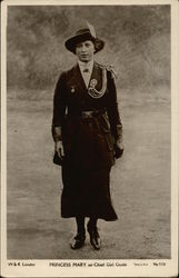 Princess Mary as Chief Girl Guide