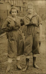 Photo of Two Girl Scouts