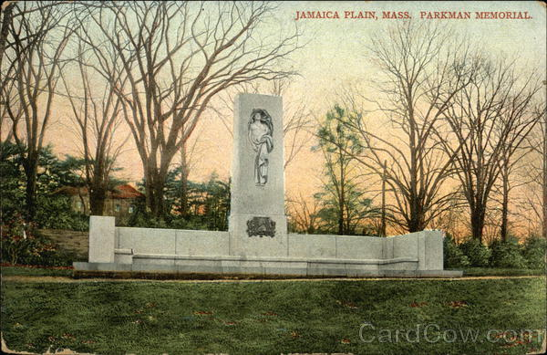 Parkman Memorial Jamaica Plain Massachusetts