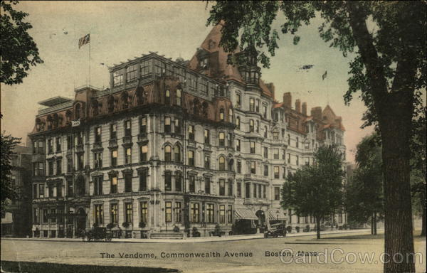 The Vendome, Commonwealth Avenue Boston Massachusetts