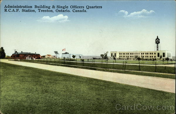 Administration Building & Single Officers Quarters, RCAF Station Trenton Canada