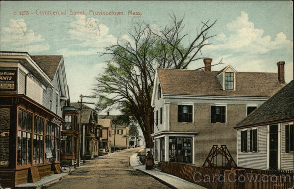 Commercial Street View Provincetown Massachusetts