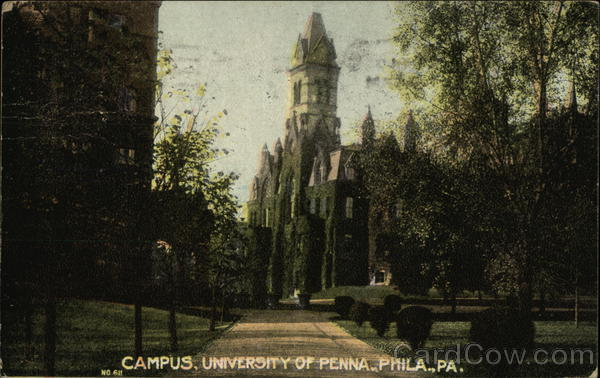 University of Pennsylvania Campus Philadelphia