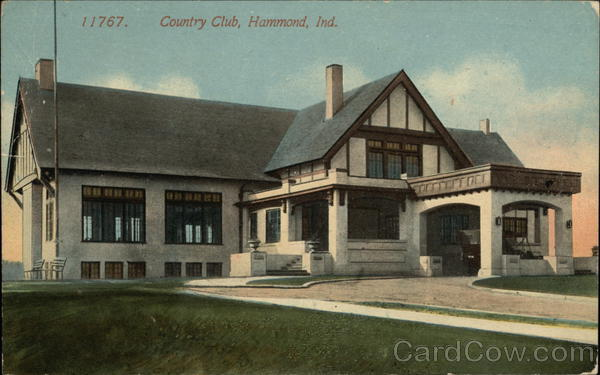 Country Club with Circle Drive Hammond Indiana