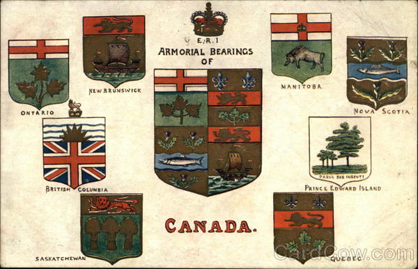 Armorial Bearings of Canada Misc. Canada