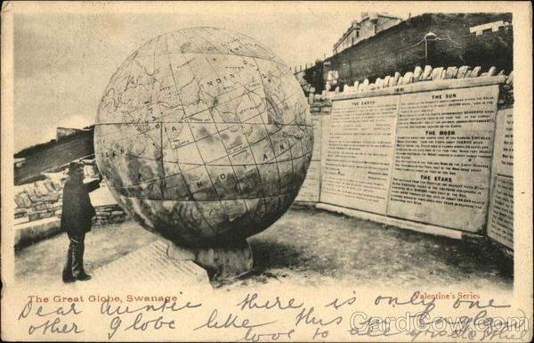 The Great Globe, Swanage England Dorset