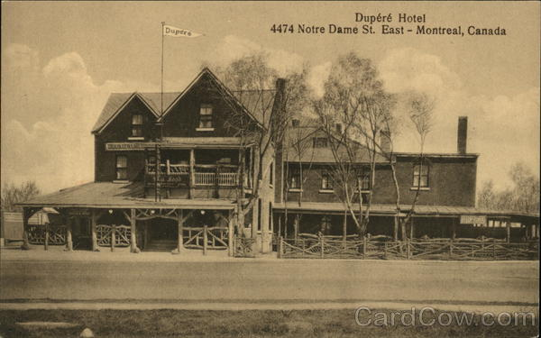 Dupere Hotel Montreal Canada Quebec