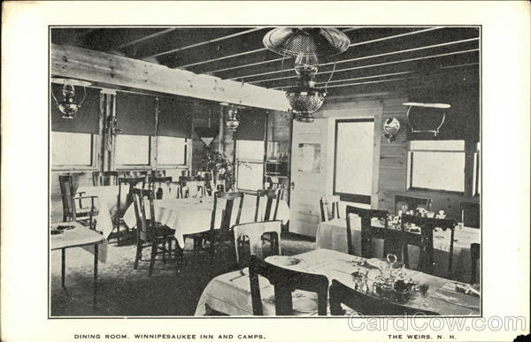 Dining Room, Winnipesaukee Inn and Camps Weirs Beach New Hampshire