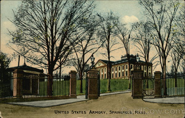 United States Armory Springfield Massachusetts