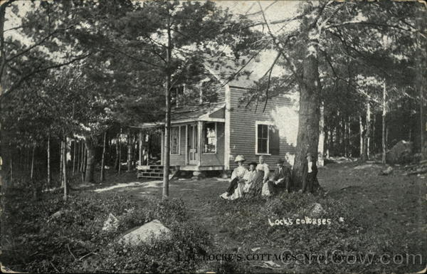 L.M. Locke's Cottages, North Barrington New Hampshire