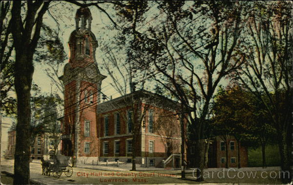 City Hall and County Court House Lawrence Massachusetts