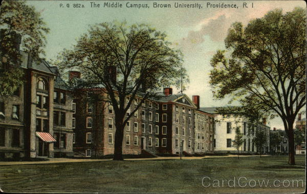 The Middle Campus, Brown University Providence Rhode Island