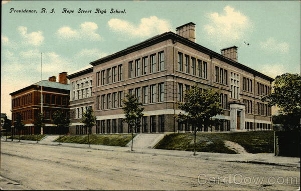 Hope Street High School Providence Rhode Island