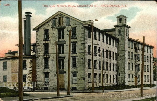 The Old White Mill Providence Rhode Island