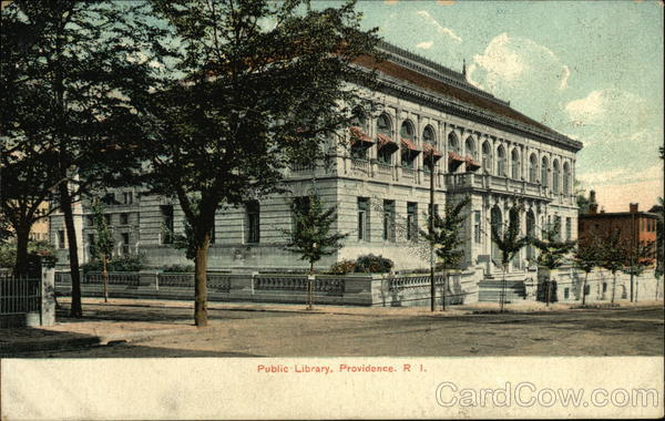 Public Library Providence Rhode Island