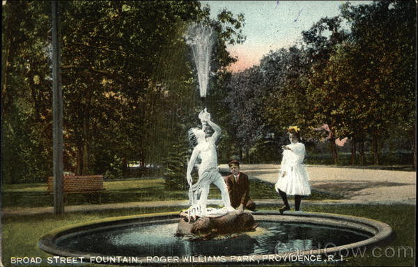 Broad Street Fountain, Roger Williams Park Providence Rhode Island