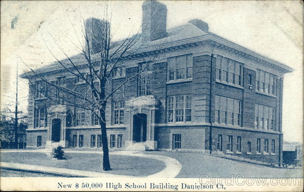 High School Building Danielson Connecticut