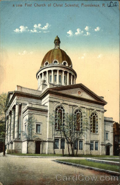 First Church of Christ Scientist Providence Rhode Island